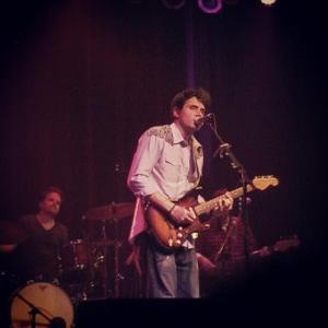 Nationally renowned singer guitarist John Mayer performs earlier this month in a benefit for those who battled the Pine Creek Fire last summer.