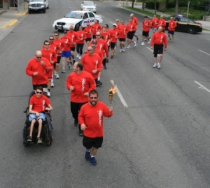 The annual Flame of Hope torch run across Montana kicks of the Special Olympics State Games.